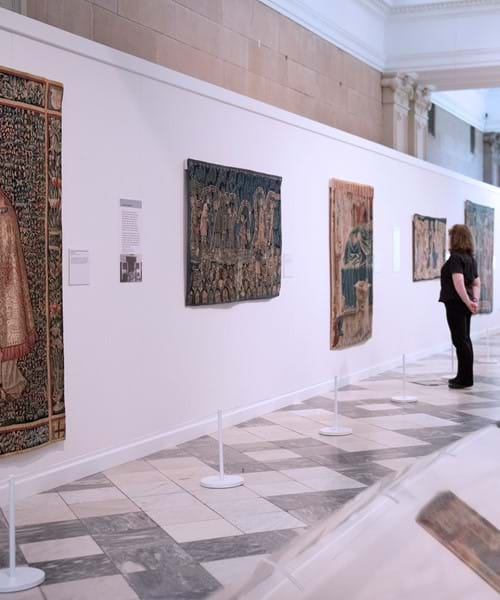 Burrell Collection tapestries on show at Kelvingrove Art Gallery exhibition