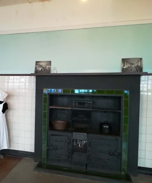 Cookery classroom at Scotland Street School Museum